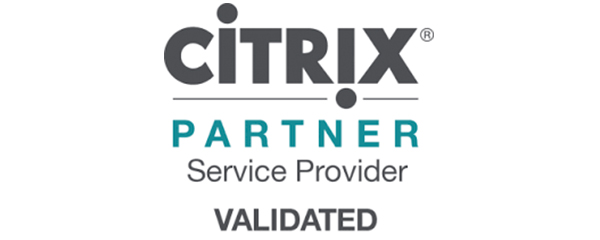 Logo citrix Partner Service Provider validated