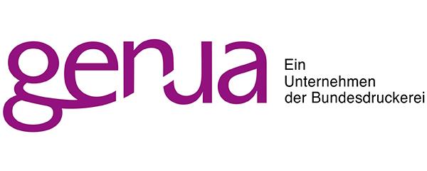 Logo genua - Ein Unternehmen der Bundesdruckerei